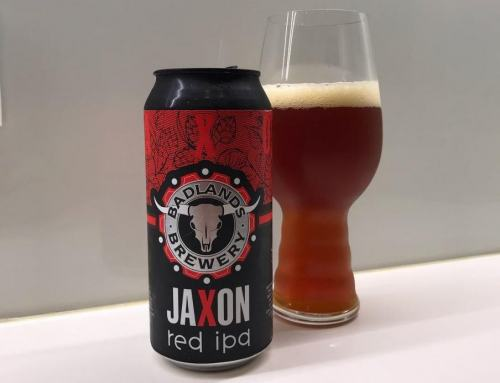 Badlands Brewery Jaxon Red IPA