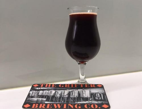 The Grifter Brewing Co's Black Moon Dark Sour