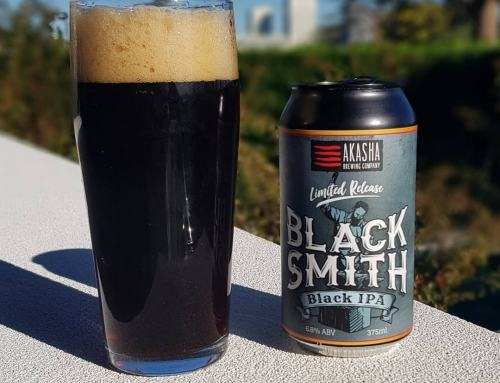 Akasha Brewing Limited Release Black Smith Black IPA