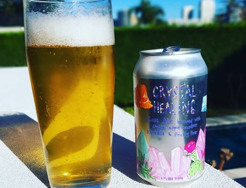 Sailors Grave Brewing Collaboration with Stomping Ground Brewing Co and Little Latin Lucy Pickles Crystal Healing Gose