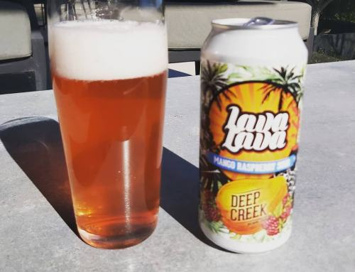 Deep Creek Brewing Co Lava Lava Mango Raspberry Sour